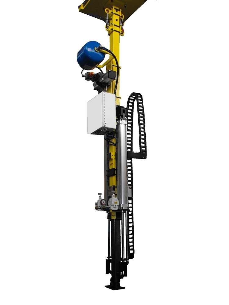 TELESCOPIC POLE WITH 2 CYLINDERS