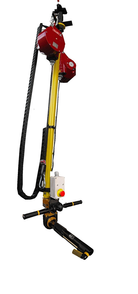TELESCOPIC POLE WITH DESOUTTER BALANCERS